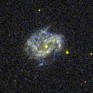 NGC 4051 - NGC 4051 imaged by GALEX