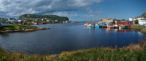 Salvage, Newfoundland and Labrador - The harbour of Salvage