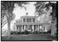 NORTH FRONT - Ashleigh (Main House), Route 22 vicinity, Gordonsville, Orange County, VA HABS VA,55-GORD.V,1-1.tif