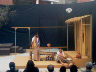 National School of Drama - Play by the NSD at the Anugoonj, 2011 (cultural festival of the GGSIPU, Delhi)