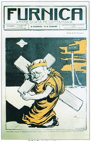 George Ranetti - Image: NS Petrescu Gaina DA Sturdza isi poarta crucea