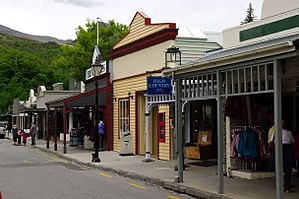 Arrowtown - Buckingham St, Arrowtown's main shopping street