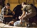 Nacho Ruipérez durante el rodaje de la película 'El Desentierro' dirigiendo a los actores.jpg