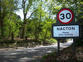 Ipswich serial murders - Nacton village, near where the body of Anneli Alderton was found