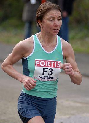 Siberian International Marathon - Nadezhda Wijenberg won the women's race in 1994.