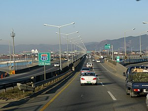 Namhae Expressway - Deokcheon IC, Busan