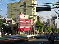 Namidabashi Intersection.JPG