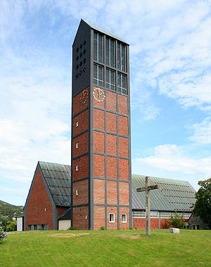 Namsos Church - Image: Namsos church