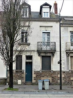 Façade du 55 boulevard Robert-Schuman à Nantes.Lieu des crimes dans l'affaire Dupont de Ligonnès.