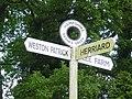 Nashes Green signpost - geograph.org.uk - 185246.jpg