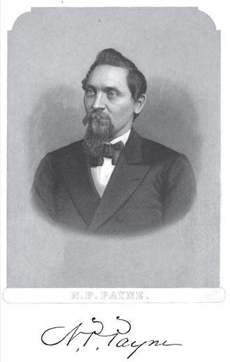 Nathan P. Payne - Nathan P. Payne circa 1875