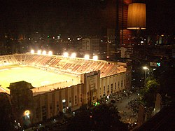 National Stadium Thailand at night.jpg