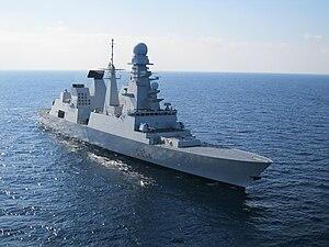 Horizon-class frigate - Italian Caio Duilio