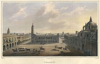 Veracruz (city) - Veracruz ca. 1836 by Carl Nebel