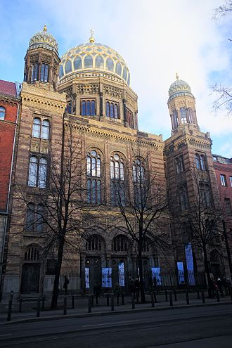 New Synagogue, Berlin - Image: Neue Synagoge (31988648135)