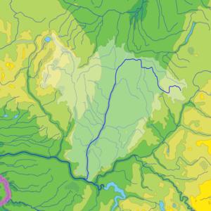 Nevėžis (river) - River Basin