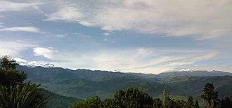 Santa Isabel (volcano) - Image: Nevado de El Ruiz santa isabel del tolima