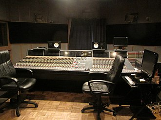 Ardent Studios - Image: Neve VR60 48x 48 Console with Flying Faders II Automation, Studio A, Ardent Studios
