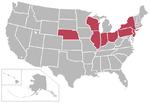 New Big East-USA-states