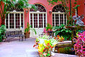 """New Orleans - French Quarter Courtyard """"Le Petit Theatre"""".jpg"""