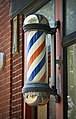 New York. East Hampton. Sag Harbor. Barber sign (4255405654).jpg