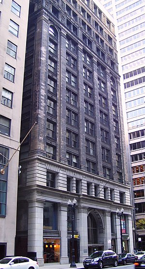 New York Life Insurance Building (Chicago) - Image: New York Life Building 37 43 South Lasalle Street from north
