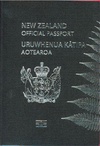 New Zealand Official Passport cover
