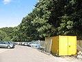 New fence - hospital car park - geograph.org.uk - 991318.jpg