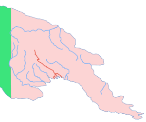 Kikori River - Location map