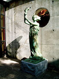 New statue of Goddess of Democracy at York University.jpg