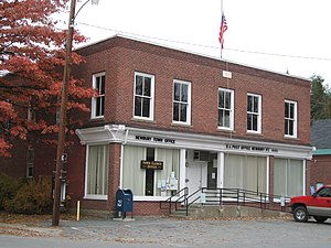 Newbury (town), Vermont - Town office and post office