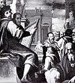 Nicodemo ferrucci, artisti fiorentini che studiano le opere di michelangelo.jpg