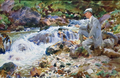 Nicola D'Inverno Fishing on the Val d'Aosta by John Singer Sargent.png