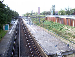 Nijmegen Heyendaal railway station