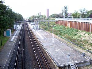 Nijmegen Heyendaal railway station - Image: Nijmegen Heyendaal