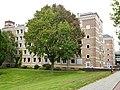 Nijmegen Radboudziekenhuis verpleegstersflat in U-vorm, Geert Groteplein Noord.JPG