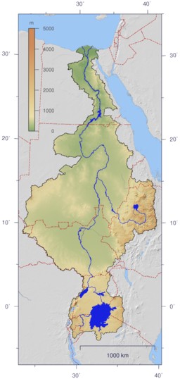 none  The Nile's watershed