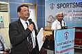 Nisith Ranjan Chowdhury Expresses His Thoughts while Kuntal Roy is Talking on Quality Training - SPORTSMEDCON 2019 - SSKM Hospital - Kolkata 2019-03-17 3406.JPG
