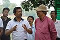 Nisith Ranjan Chowdhury Talks with Arup Roy - Summer Camp - Nisana Foundation - Sibpur BE College Model High School - Howrah 2013-06-09 9759.JPG