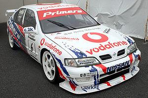 David Leslie (racing driver) - Leslie's Primera in the 1999 BTCC.