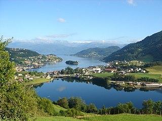 Kvam Municipality in Hordaland, Norway