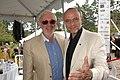 Norman Jewison and Moses Znaimer at the 2007 CFC BBQ. (48198984437).jpg