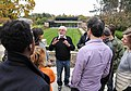 Norman Jewison speaks to the 2014 CFC residents. (48198925537).jpg
