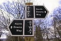 North Downs Way Signpost - geograph.org.uk - 660730.jpg