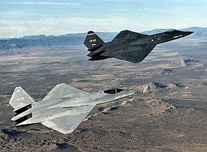 Northrop YF-23 - Image: Northrop YF 23 DFRC