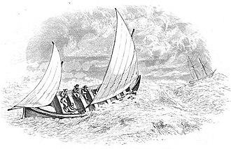 James Beeching - James Beeching's self-righting Lifeboat (1851)