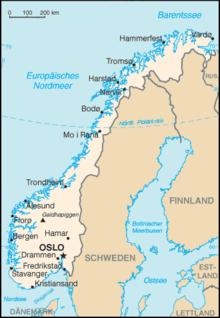 norwegen karte regionen Liste der Städte in Norwegen – Wikipedia norwegen karte regionen