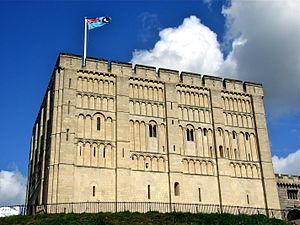 Norwich - Norwich Castle's 12th-century keep
