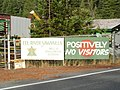 Not everything is open to tourists, however in the redwood country. 2004. (10303009004).jpg