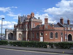 Thomas Chambers Hine - Nottingham Great Northern Railway station